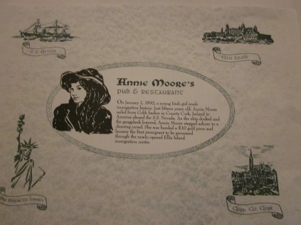 The story of Annie Moore