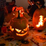 atelier de halloween. Sculptat dovleci, halloween workshop, carved pumpkin