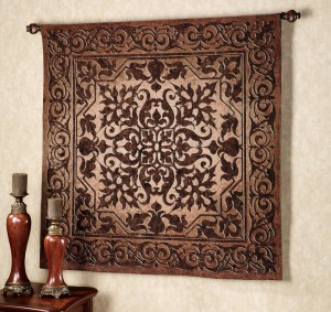 Ironworks Tapestry Wall Hanging