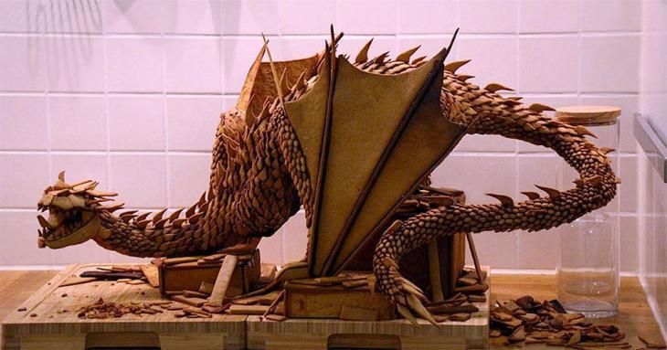 Smaug the Dragon Gingerbread Beast