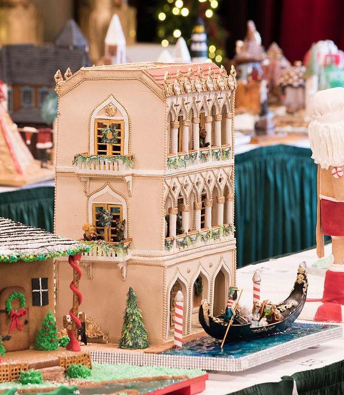 Venetian Gingerbread House