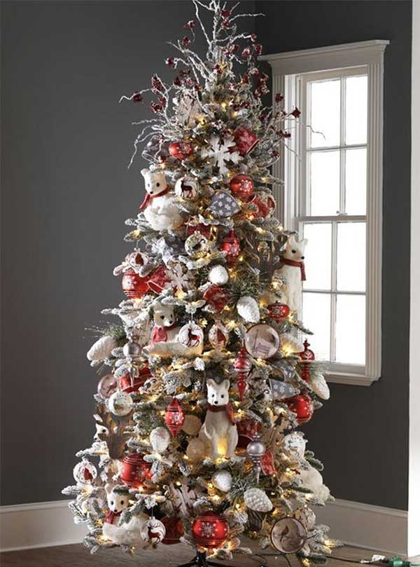 Woodland Wonderland Christmas Tree