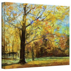 Shades of Autumn by Michael Creese Art Print on Gallery Wrapped Canvas
