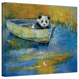 Panda Sailor by Michael Creese Art Print on Gallery Wrapped Canvas