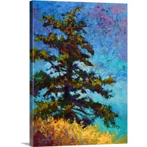 Lone Pine by Marion Rose Art Print on Canvas