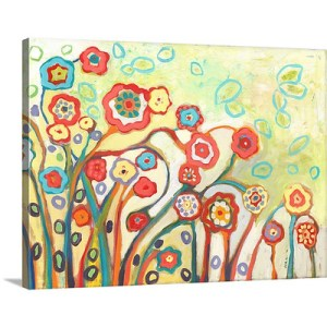 The Garden of My Dreams by Jennifer Lommers Art Print on Canvas