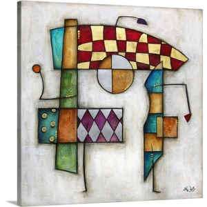 Reva by Eric Waugh Painting Print on Canvas