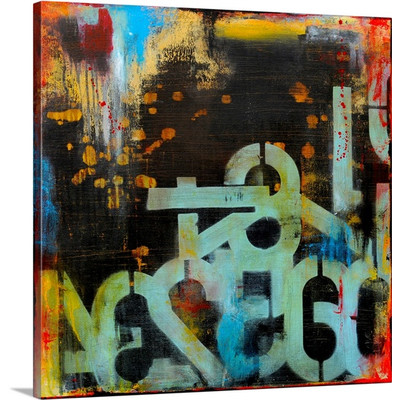 Out Numbered by Erin Ashley Art Print on Canvas