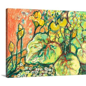Squash and Tomatoes by Jennifer Lommers Art Print on Canvas