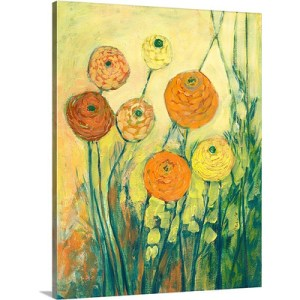 Sunrise in Bloom by Jennifer Lommers Art Print on Canvas