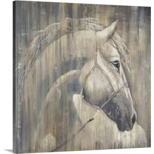 His Majesty by Liz Jardine Art Print on Canvas