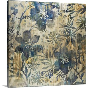 Daisychain by Liz Jardine Art Print on Canvas