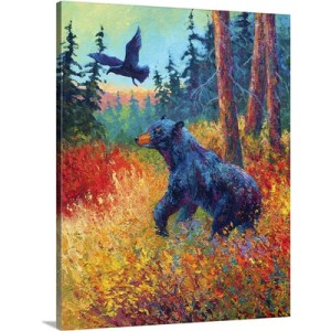 Forest Friends by Marion Rose Art Print on Canvas