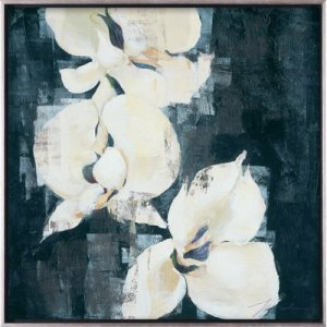 Shadow Orchids II by Liz Jardine | Acrylic Canvas Art Print