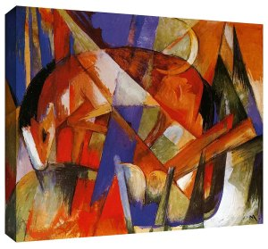 Beast II by Franz Marc Gallery Wrapped Canvas