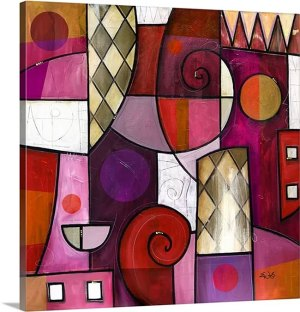 Mosaic by Eric Waugh Art Print on Canvas