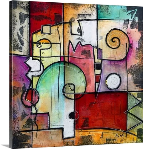 Rialto by Eric Waugh Art Print on Canvas