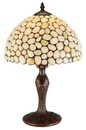 "19""H Jasper Opal Table Lamp"