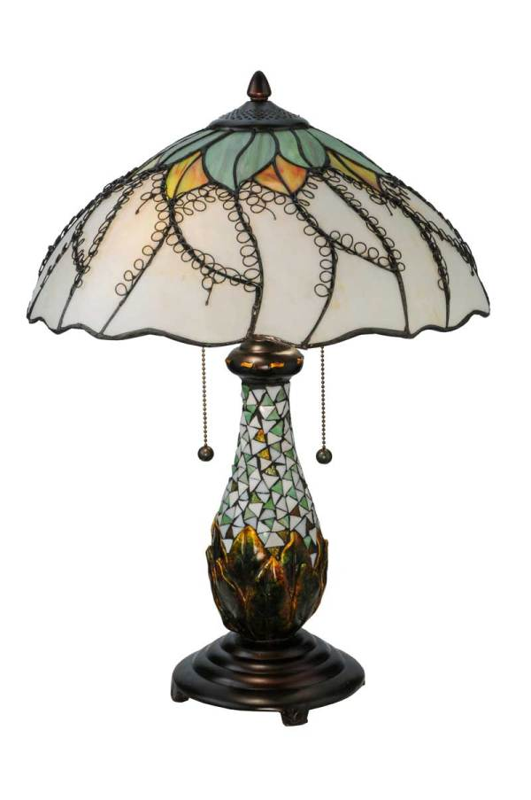 "22.5"" H Videira Florale Table Lamp"