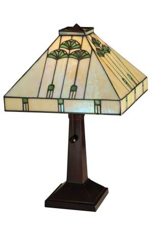 "16.25""H Ginkgo Table Lamp"