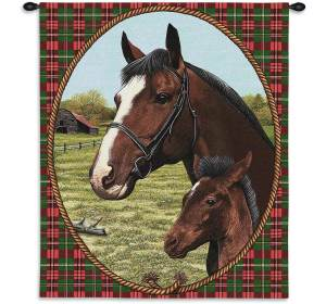 "Cheval (Horses) | 34"" x 26"" 