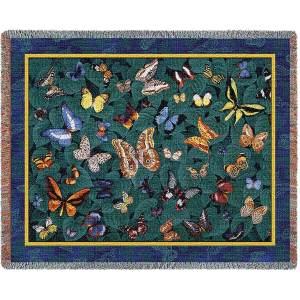 "Butterfly Dance | Tapestry Blanket | 54"" x 70"""