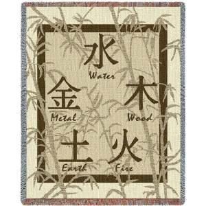 Feng Shui Blanket   53 x 70