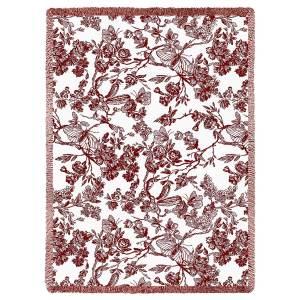 Amelias Garden   Afghan Throw Blanket