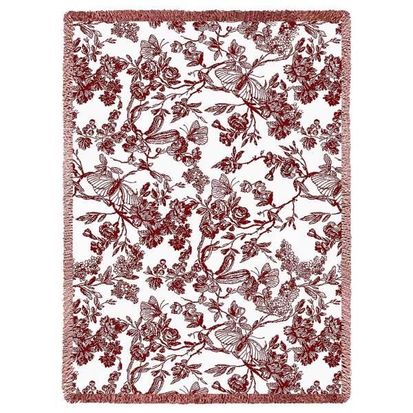 Amelias Garden | Afghan Throw Blanket