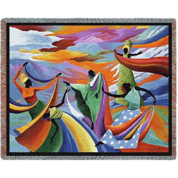 Skydancer Abstract   Throw Blanket