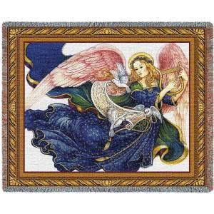 Celestial Grace (Angel)   Afghan Blanket   54 x 70