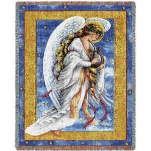 Celestial Light | Christmas Seasonal Throw Blanket