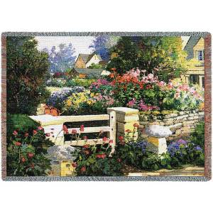 The Gate | Tapestry Blanket | 70 x 54
