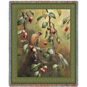 Cherry Chase | Afghan Blanket | 54 x 70