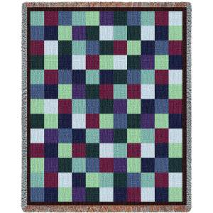 Patchwork | Woven Throw Blanket