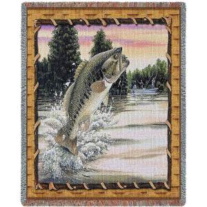 Bass Attack | Woven Blanket | 70 x 54