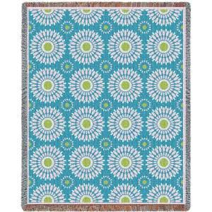 Blossom Whimsy | Tapestry Blanket | 54 x 70