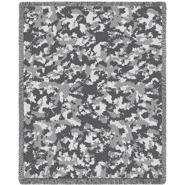 Camouflage Desert | Tapestry Blanket | 54 x 70