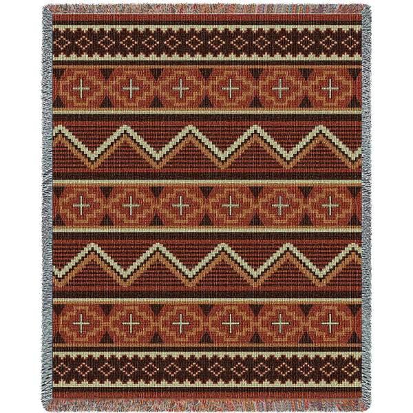 "Los Ranchos   Tapestry Blanket   53"" x 70"""