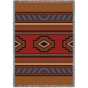 Chimayo | Southwestern Cotton Throw Blanket | 53 x 70