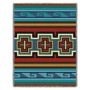 Sarkoy | Southwestern Cotton Throw Blanket