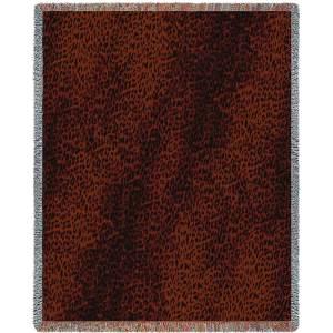 Leopard Skin Light | Tapestry Blanket | 53 x 70