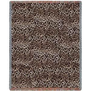 Cheetah Skin | Cotton Throw Blanket