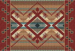 Las Cruces | Southwest Tapestry Placemats | 9 x 13