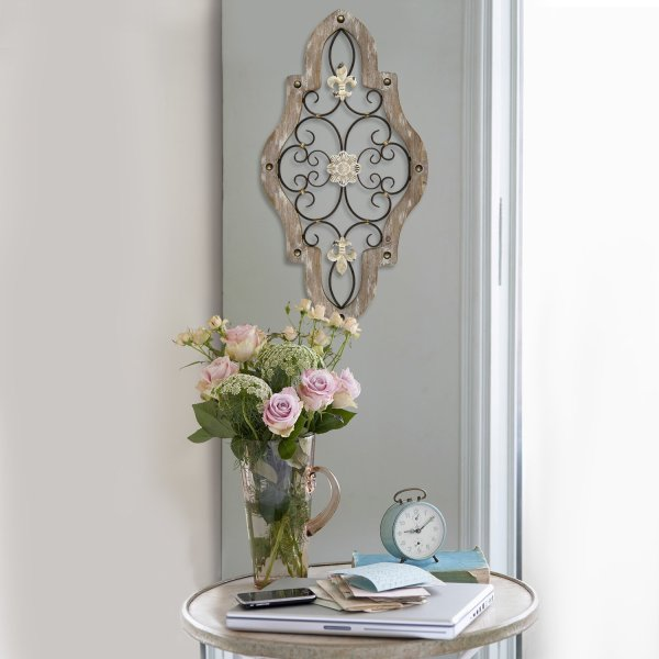 French Country Scroll Wall Decor