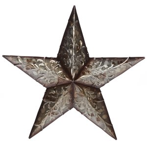Relief Metal Barn Star | 16""