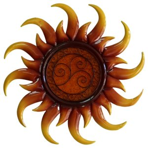 Comfort Sun Metal Sun Wall Decor