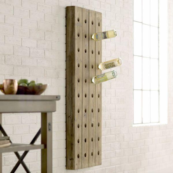 Trent Austin Design | Wolpert 40 Bottle Wall Mounted Wine Rack