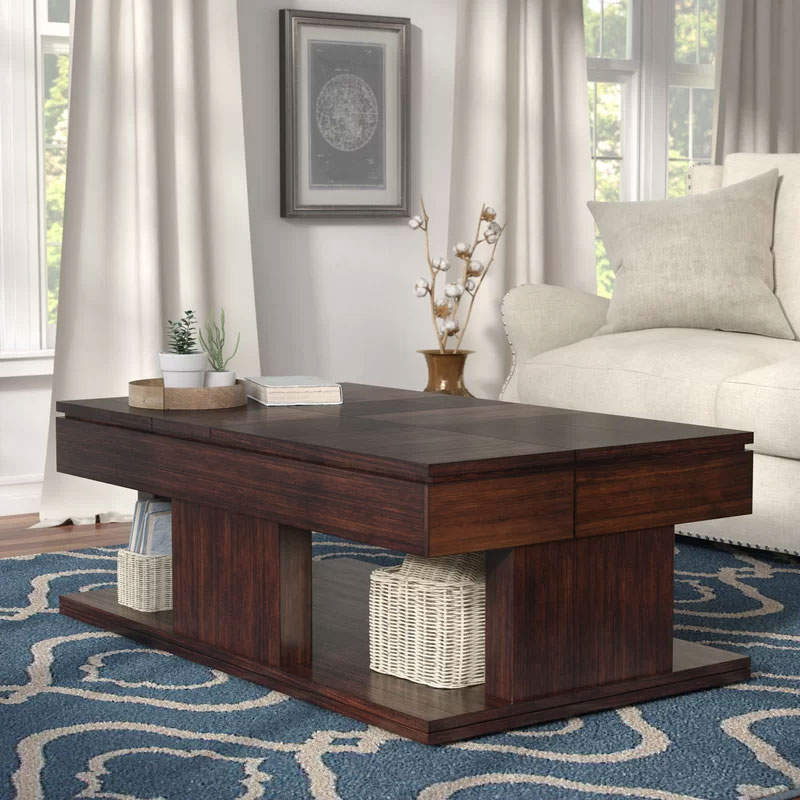 Cool Coffee Tables | Janene Lift Top Coffee Table