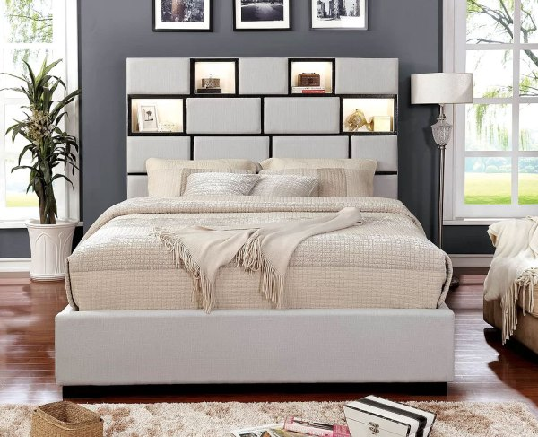 Widener Upholstered Panel Bed